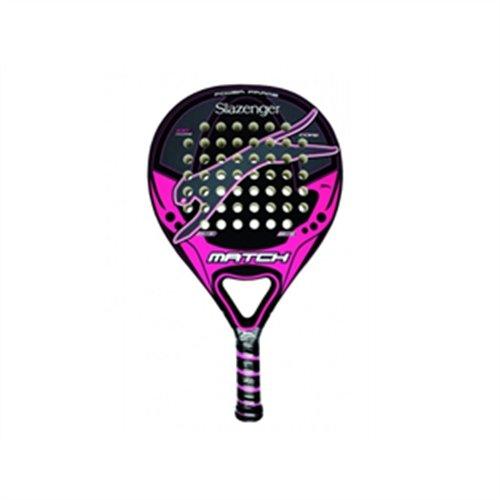 Slazenger Match - Pala de pádel, Color Negro/Rosa/Gris, 38 ...
