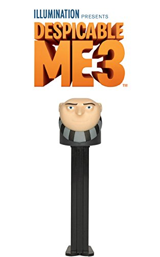 Pez Despicable Me 3 Felonious Gru Dispenser ()