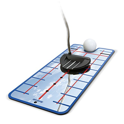 GoSports Golf Putting Alignment Mirror Guide - Putt Like the Pros (Choose Between Standard and XL Mirror Training - Training Putt