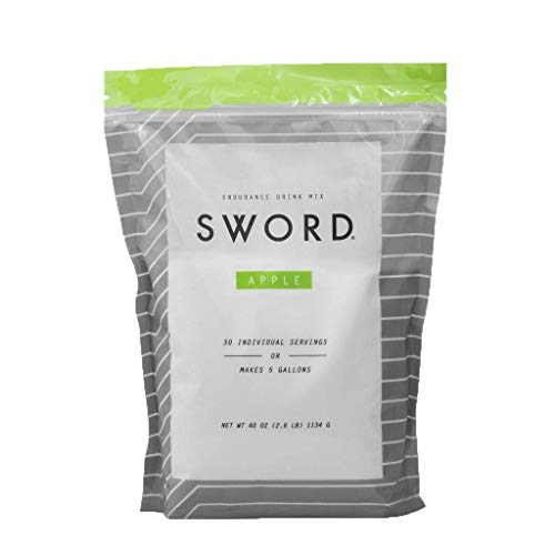 Sword Endurance, Peak Performance Hydration, Apple, 30 Serving Resealable Bag (Apple, 30 Serving resealable Bag)