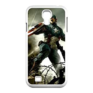 Samsung Galaxy S4 I9500 Phone Case for Captain America pattern design