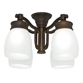 Casablanca Fan Company 99091 Outdoor 4 Light Fixture, Maiden Bronze