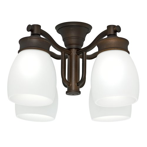 Casablanca Fan Company 99091 Outdoor 4 Light Fixture, Maiden Bronze by Casablanca