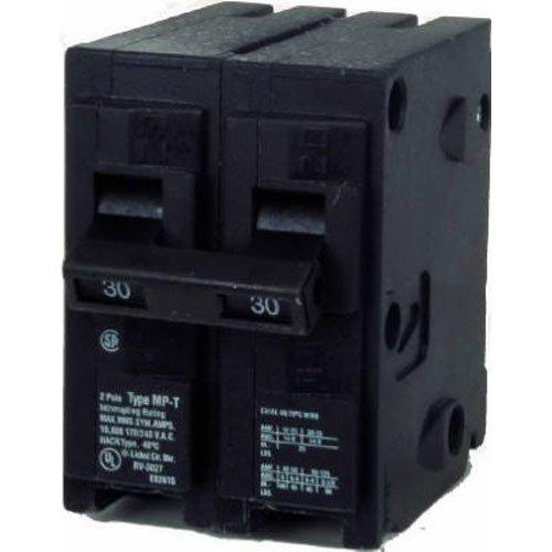 MP230 30-Amp Double Pole Type MP-T Circuit Breaker ()