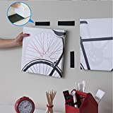 15 Pcs Heavy Duty Hook and Loop Tape Strips with