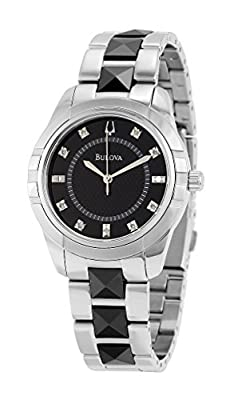 Bulova Women's 98P136 Diamond Dial Watch