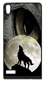 Wofe Moon Case Cover for HuaWei P6 by supermalls