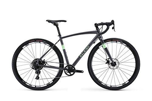 Raleigh Bikes Amelia 3 Womens Adventure Road Bike 48cm Frame, Grey, 48cm/XX-Small Raleigh Bikes
