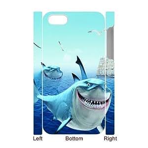 SYSD Diy Iphone 4/4s hard Case Shark,customized 3D case KJ65948940