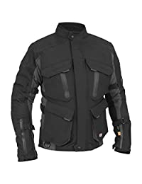 Juicy Trendz Motorcycle Motorbike Biker Cordura Waterproof Textile Jacket