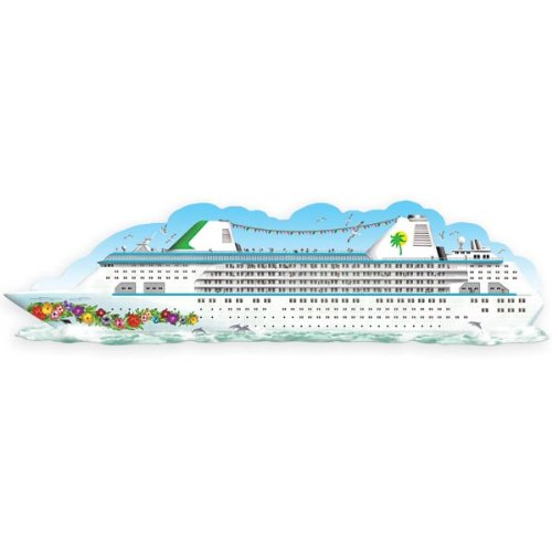 Jointed Cruise Ship Party Accessory (1 count) (Halloween Cruises)