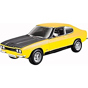 - 410pTnRK8zL - 1970 Ford Capri Rs2600 Street Classics 1:32 Scale Diecast Model Car Toy For Kids