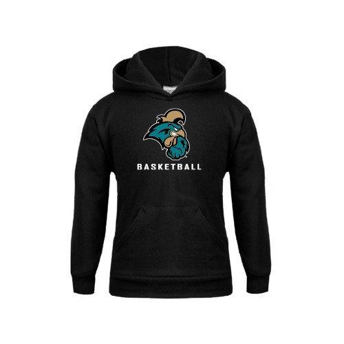 Coastal Carolina Youth Black Fleece Hoodie Basketball