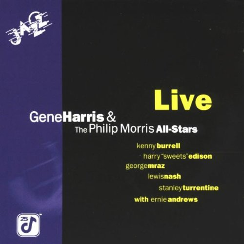 Gene Harris   The Philip Morris All Stars  Live