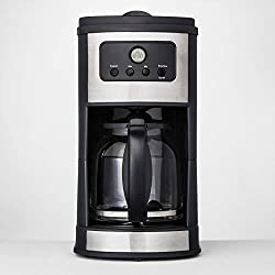 12 Cup Programmable Automatic Drip Silver Coffee Maker - Made By Design™