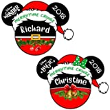 LARGE Personalized Merrytime Christmas Magnet | Disney Inspired Christmas Santa Magnet | Christmas Disney Cruise Door Magnet