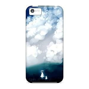 linJUN FENGChrisHuisman iphone 4/4s Hybrid Cases Covers Bumper Girl In Dark World