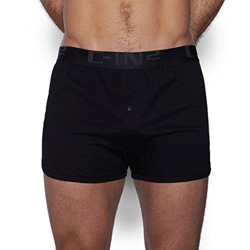 C-IN2 Men's Core Basic Runner Short, Black, Medium