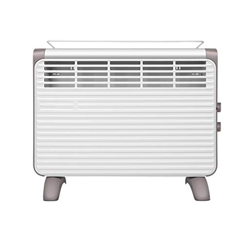 ZJ Electric Fireplaces Convection Heater Heating Furnace 3 Power Settings Energy Saving IPX2 Waterproof Bathroom Available White 1900W &&