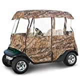 Classic Accessories Deluxe Camo Golf Car Enclosure (Fits Most Popular Two-Person Golf Cars), Outdoor Stuffs