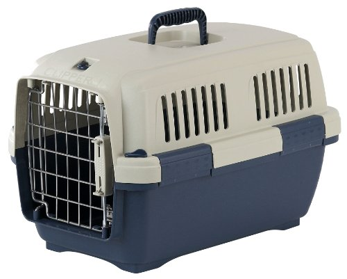 Marchioro Clipper Cayman 2 Pet Carrier, 22.25-inches, Tan/Blue (Cayman Marchioro Clipper)