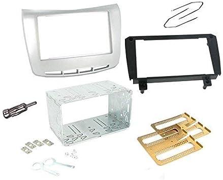 Sound-Way - Kit de Montaje Marco Adaptador autoradio 1 DIN/2 DIN para Lancia Dedra: Amazon.es: Coche y moto