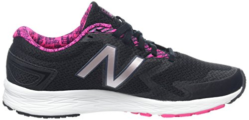 New Balance Women's Flash V2 Running Shoes Black (Black/Pink) 6QgmsNd