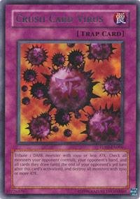 - Yu-Gi-Oh! - Crush Card Virus (TU01-EN006) - Turbo Pack 1 - Promo Edition - Rare