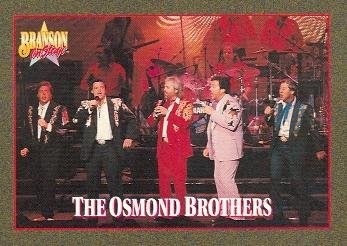 The Osmond Brothers trading card (Country Music) 1992 Branson on Stage #23
