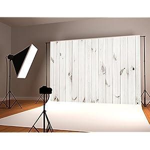 Kate 10x6.5ft White Wood Backdrop Photography Seamless No Wrinkle White Wood Photo Background