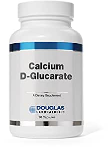 Douglas Laboratories® - Calcium-D-Glucarate (500 mg.) - Support Against Environmental Toxins and Excess Steroid Hormones* - 90 Capsules
