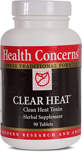 Health Concerns – Clear Heat – Clean Heat Toxin Herbal Supplement – Modified Chuan Yin Lian Kang Yang Pian – Supports Immune System – 90 Tablets