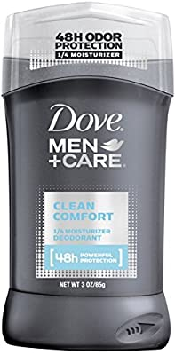 Dove Men + Care Deodorant Stick, Clean Comfort 3 oz