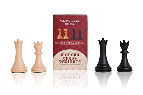 Chancellor and Archbishop - Musketeer Chess Variant Kit - 4 Set - by The House of Staunton
