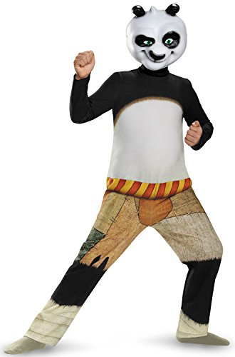 Disguise Panda-Po Classic Costume, Medium