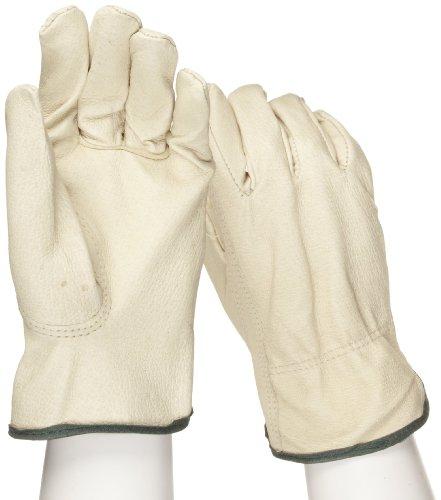 West Chester 9940K Premium Grain Pigskin Leather Driver Work Gloves: Keystone Thumb, Medium, 12 Pairs Westchester Premium Grain Leather