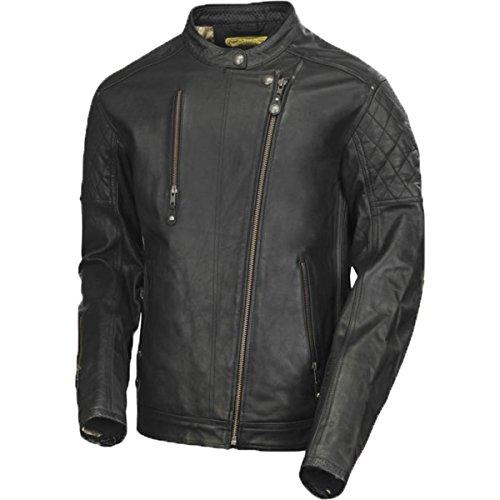 Roland Sand Design Clash Leather Men's Street Motorcycle Jackets - Black Large