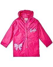 Capa de Chuva Barbie Bang Toys Rosa Médio