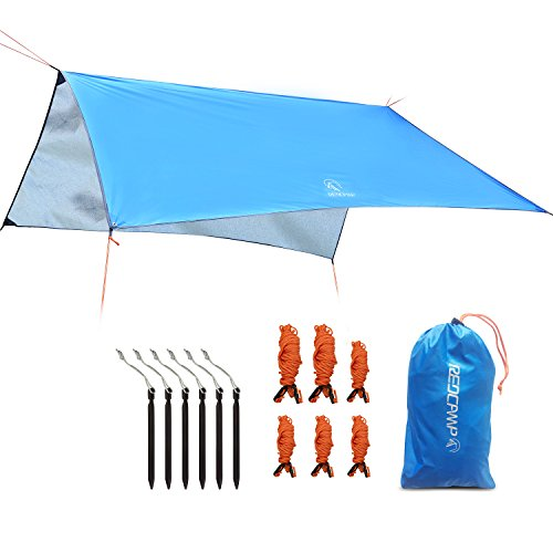 REDCAMP C&ing Tent Tarp Rain Fly Waterproof Lightweight Rain Trap Tent for Outdoor Hiking Backpacking  sc 1 st  Desertcart & REDCAMP Camping Tent Tarp Rain Fly Waterproof Lightweight Rain ...