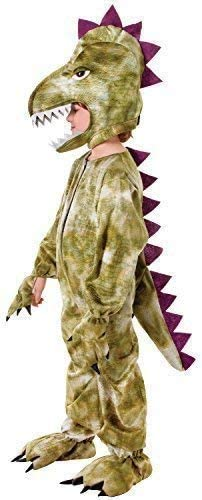 Boys Girls Dragon Costume Book Day Dinosaur Jurassic Halloween Fancy Dress
