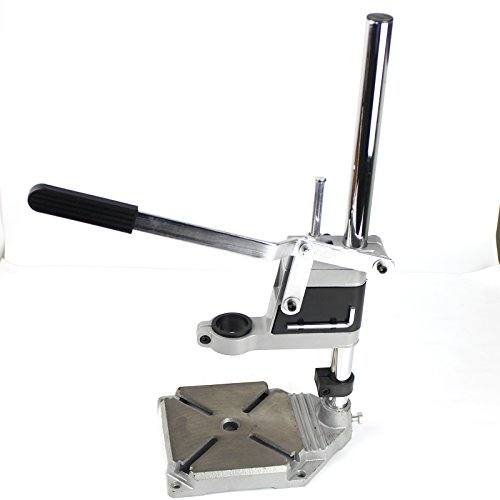 Drill Press Stand Table Attatchment for Electric Hand Drill, PANGOLIN Heavy Duty Adjustable Drill Press Table Clamp for Drilling Workbench Reapir by PANGOLIN