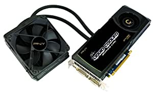 PNY XLR8 Liquid Cooled GeForce GTX 580 1536MB GDDR5 PCI-Express 2.0 DVI-I+DVI-I+HDMI mini Liquid Cooled Overclocked Graphics Card VCGGTX580XPB-LC