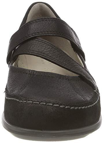 Mocassins quarry51052 Noir Jane Cayla Femme black Mary Ecco black fw568U