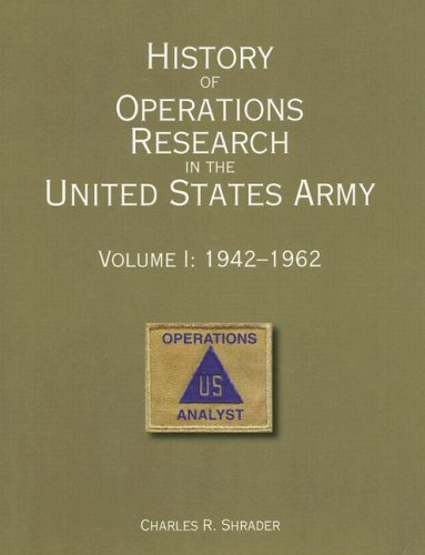 History of Operations Research in the United States Army, V. 1, - Stores O Chicago Hare