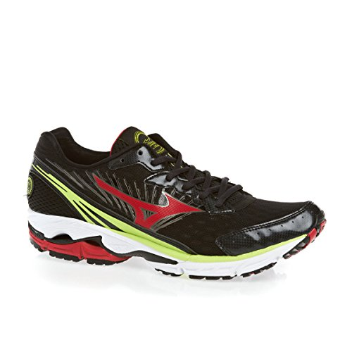 Mizuno Sneakers Running Wave Rider 16 Antracite/Rosso/Lime EU 45 (UK 10.5) Antracite/Rosso/Lime