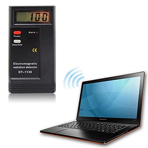 Digital LCD Detector de radiación electromagnética EMF Meter dosímetro Tester por goldenmonkey: Amazon.es: Bricolaje y herramientas