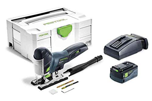 Festool 575685 Carvex PSC 420 Li 5.2 Ah 18V EBI-Plus Cordless Barrel Grip Jigsaw