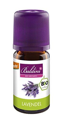 Baldini Lavendelöl ,100% naturreines, ätherisches BIO-Öl , 5 ml