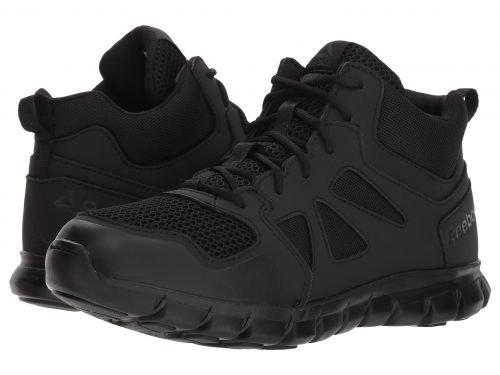 Reebok Work(リーボック) メンズ 男性用 シューズ 靴 ブーツ 安全靴 ワーカーブーツ Sublite Cushion Tactical Black [並行輸入品] B07DNQXLBN 7 D Medium