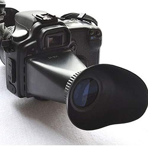 FidgetFidget LCD Viewfinder Hood for Canon V2 2.8X Magnifier Extender Camera 550D 5DIII